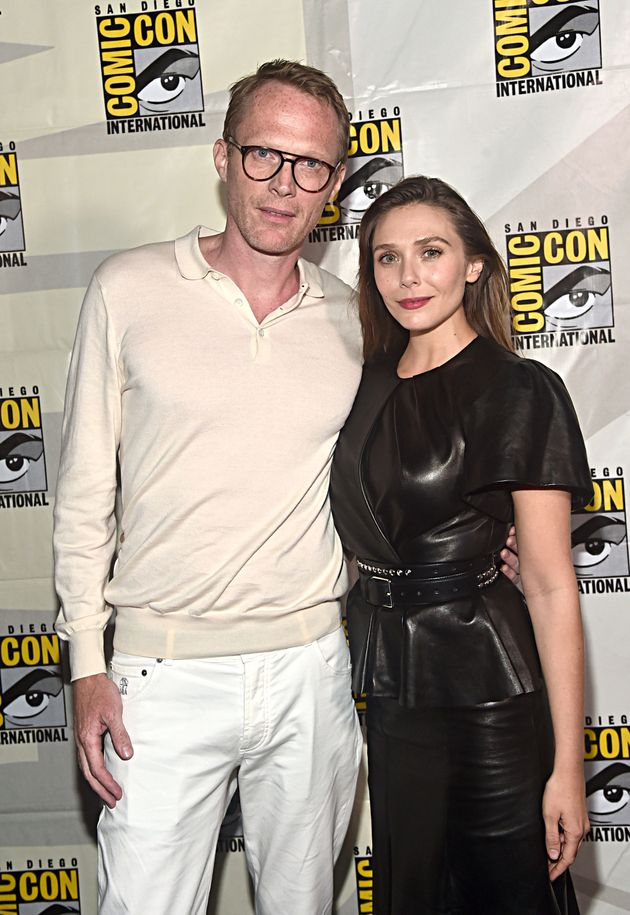 WandaVision stars Paul Bettany and Elizabeth