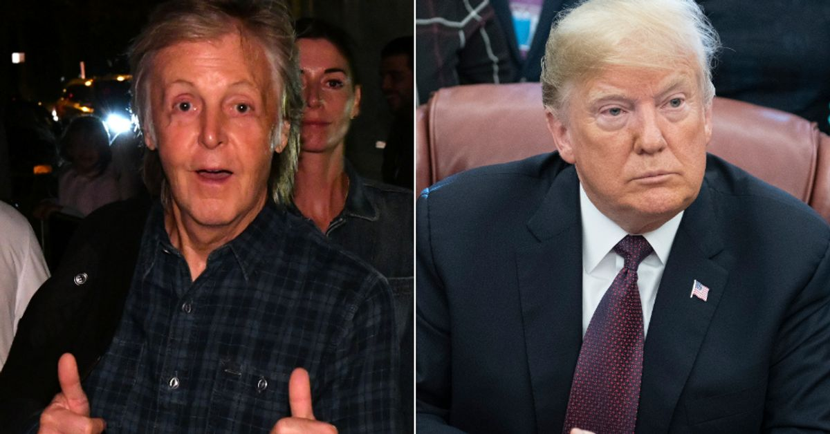 Turns Out Paul McCartney Does A Really Convincing Impression Of Trump