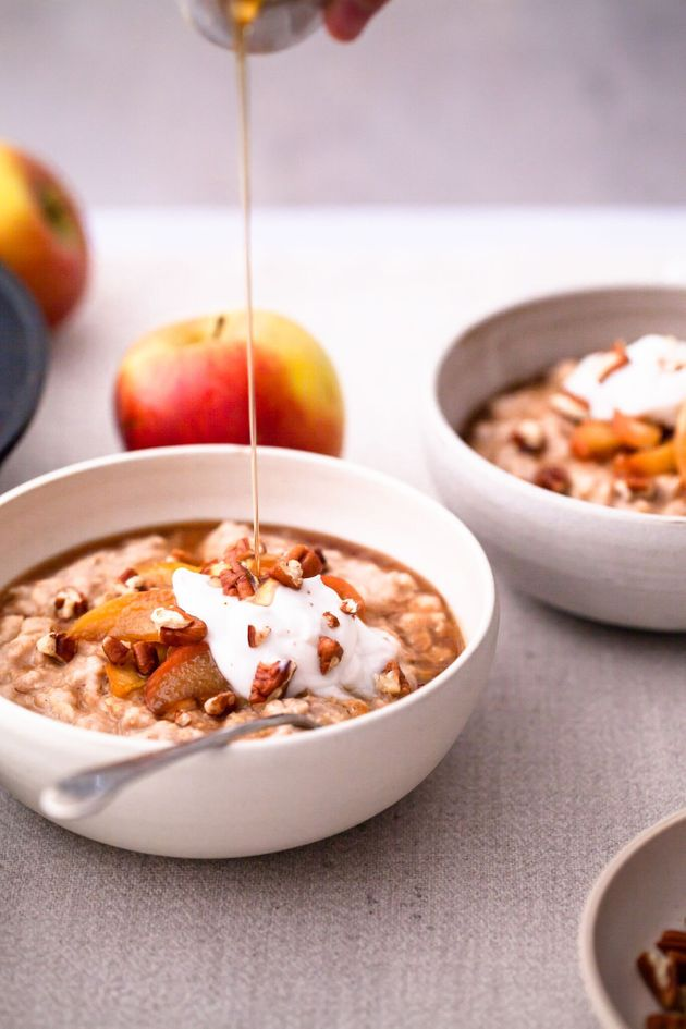 Stacey Horler's toffee apple oats