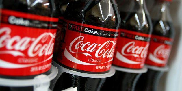 Botellas de Coca