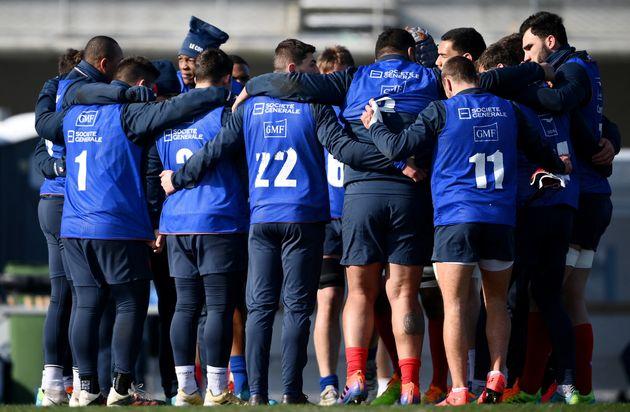 Le match France-Ecosse du Tournoi des Six nations reporté(photo d'illustration: le XV de...