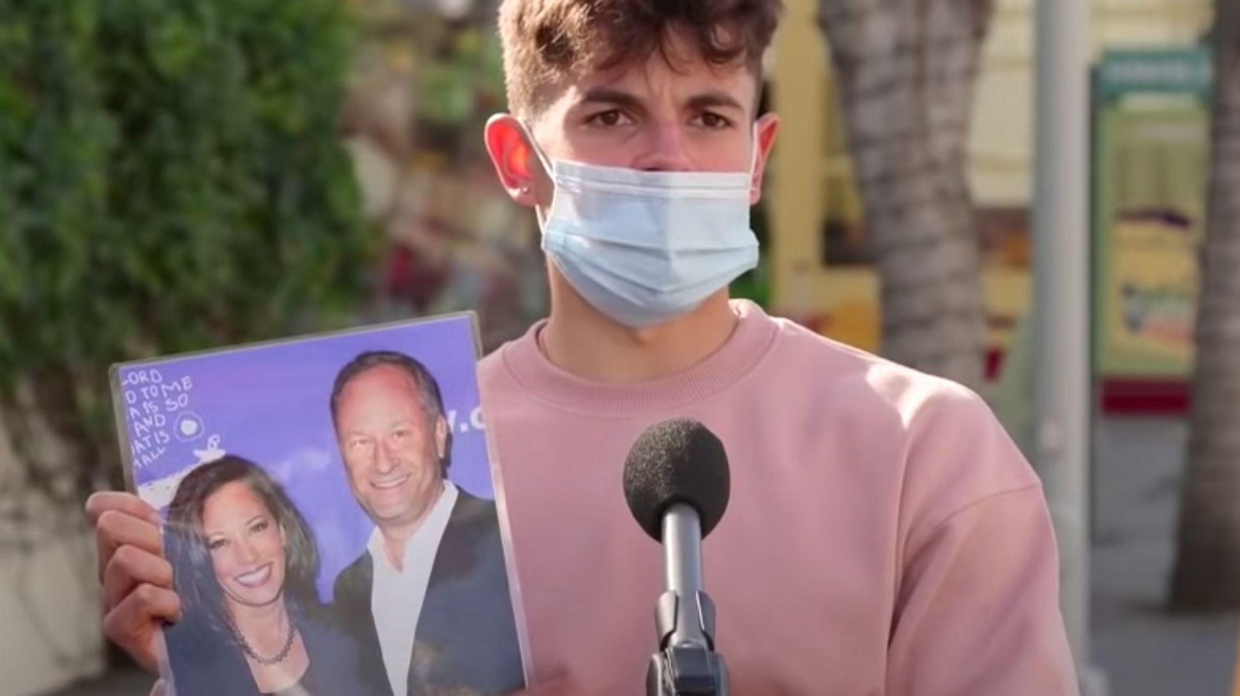 Jimmy Kimmel Asks People To ID Doug Emhoff And It Does Not Go Well