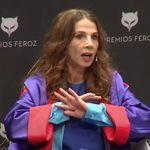 Victoria Abril la lía en un acto de los premios Feroz con su opinión sobre las