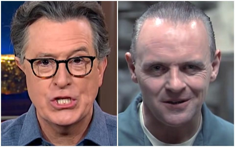 Colbert Compares Cruz And Hawley To Hannibal Lecter, And Comedy Is Delicious