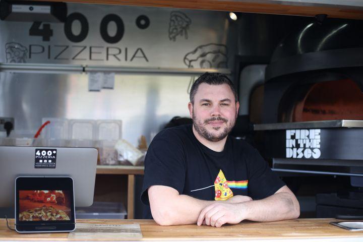 400° Pizzeria's Sam Corban