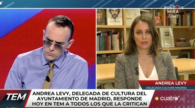 Risto Mejide entrevista a Andrea Levy en 'Todo Es Mentira'