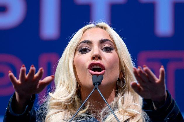Lady Gaga a Roma per le riprese di
