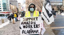 Labor Groups And Progressives Urge Biden To Support Amazon Union