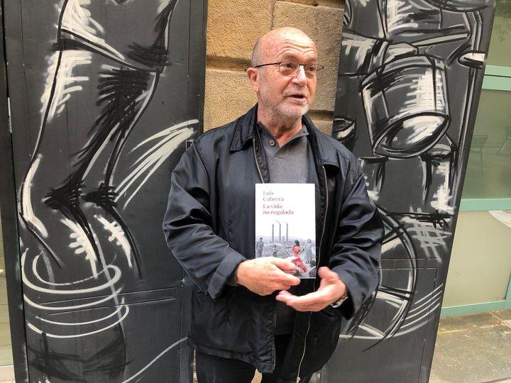 Luis Cabrera, autor del libro 'La vida no regalada'.