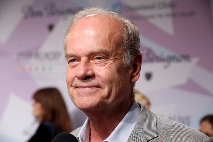 Actor Kelsey Grammer is interviewed during the 24th annual Keep Memory Alive