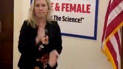 QAnon Believer Republican Antagonises Democratic Colleague With Anti-Transgender