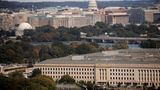 FILE PHOTO: The Pentagon building is seen in Arlington, Virginia, U.S. October 9, 2020. REUTERS/Carlos Barria/File Photo