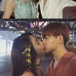 파경설 휩싸인 함소원이 남편 진화와 키스 사진 공개하며 밝힌