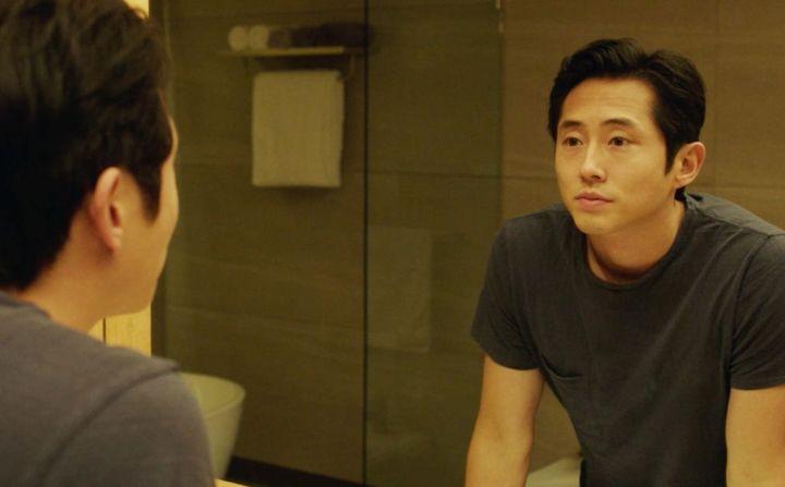 """Steven Yeun in """"Burning."""""""
