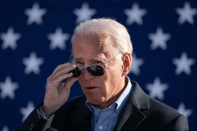 Joe Biden, el pasado noviembre, en un acto de campaña en Monaca,