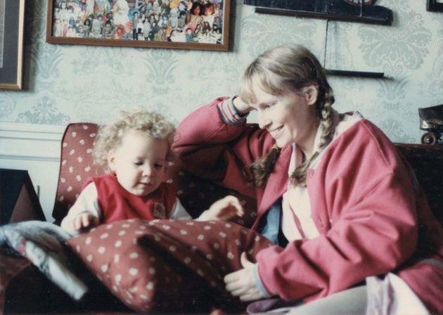 Photo non datée de Dylan et Mia