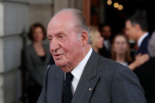 Juan Carlos I, fotografiado en el Congreso el 11 de mayo de