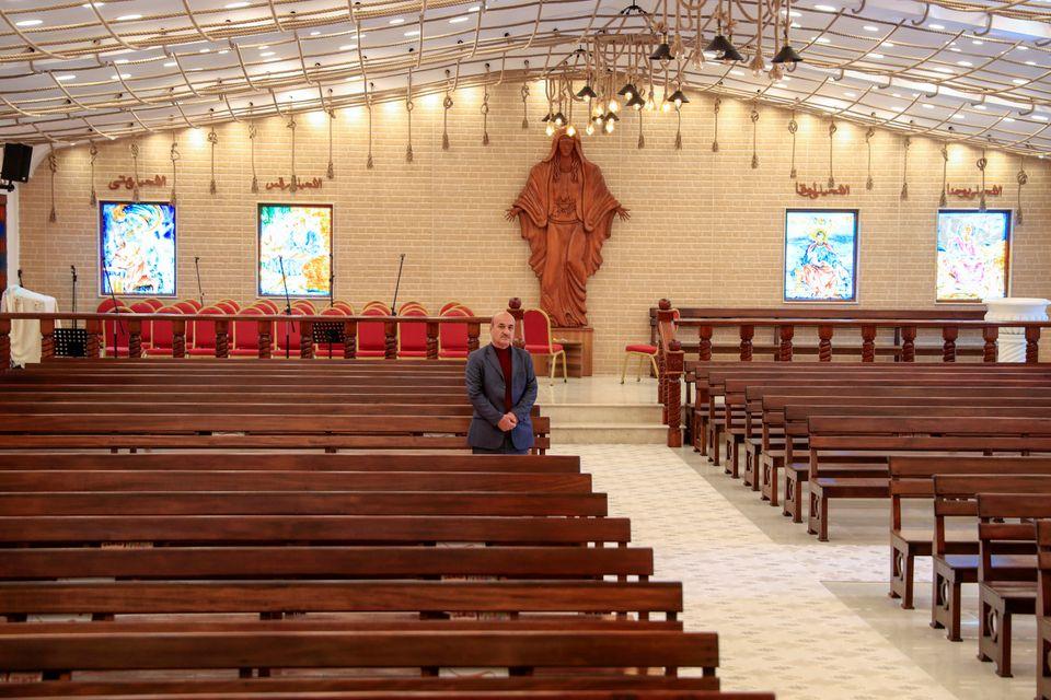 Ο 59χρονος ιρακινός χριστιανός...