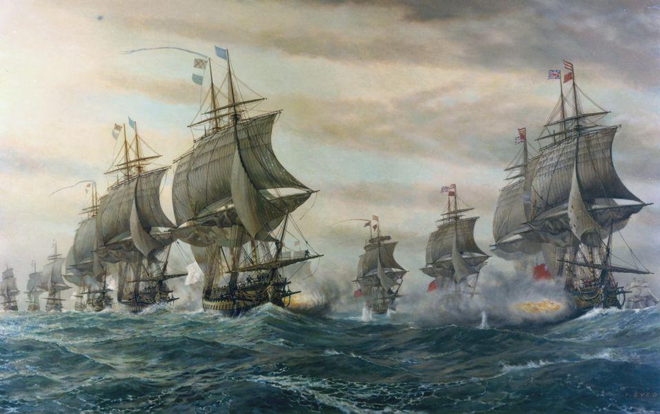 Η ναυμαχία στον Κόλπο...