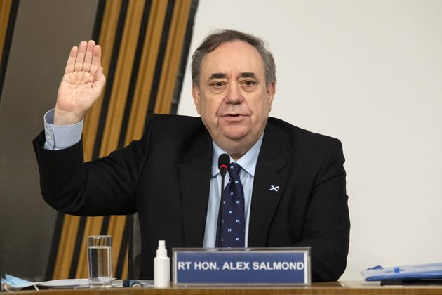 Former first minister of Scotland Alex