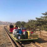 Ρώσοι διπλωμάτες αποχώρησαν από τη Βόρεια Κορέα με αυτοκινούμενο χειροκίνητο