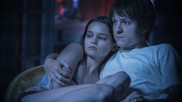 Ciara Bravo and Tom Holland in