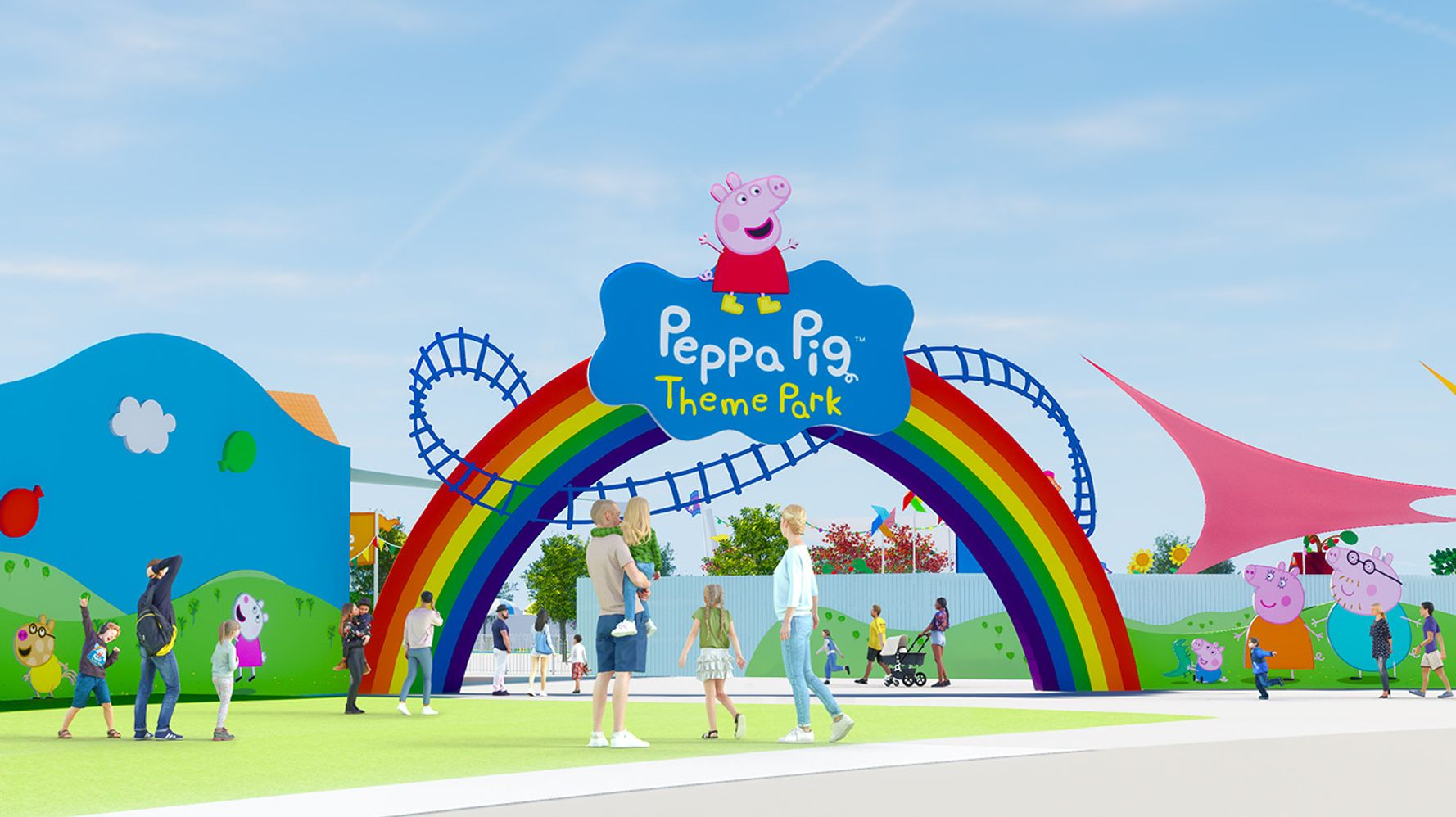 By 2022, A Peppa Pig Theme Park Will Exist
