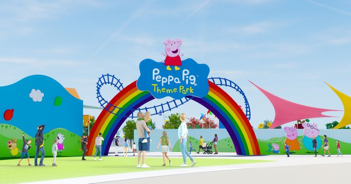 The Peppa Pig Theme Park is slated to open in Florida by 2022.