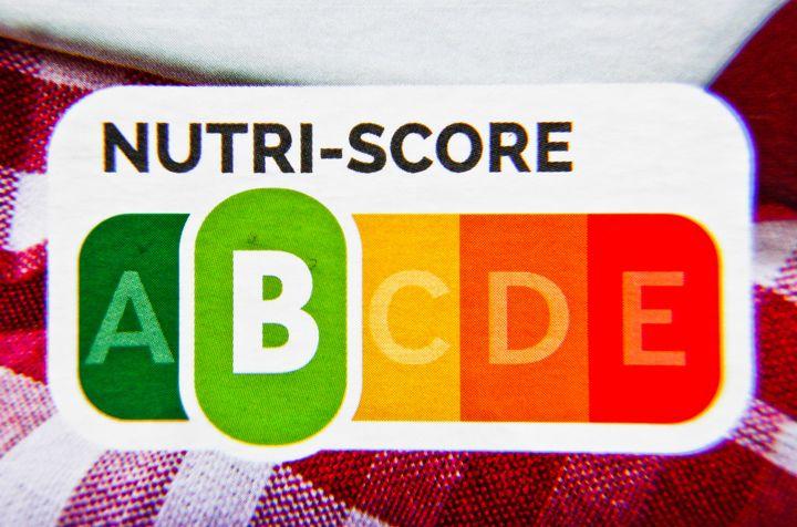 Ejemplo de etiquetado Nutriscore.