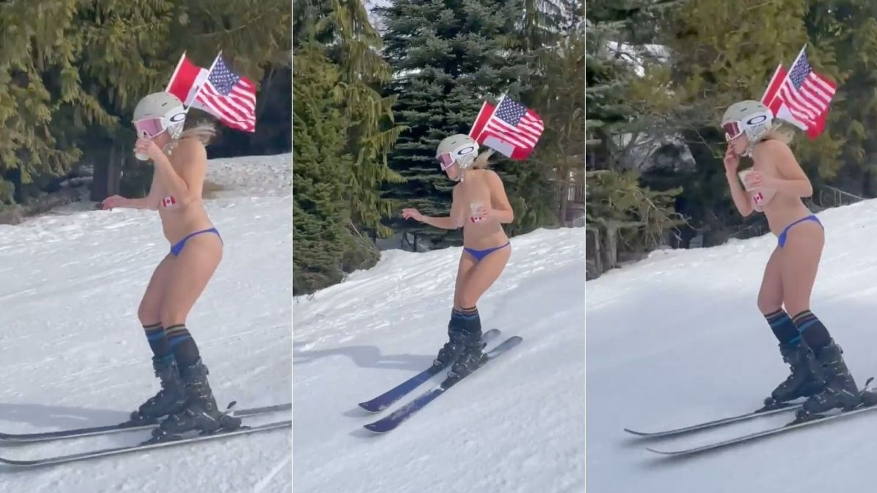 Chelsea Handler Shouts Out Canada In Literal Birthday Suit