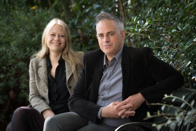 Sian Berry and Jonathan Bartley after they were named as the joint leaders of the Green Party in