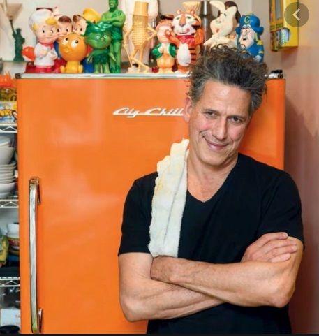 Bob Blumer in his zero-waste home kitchen