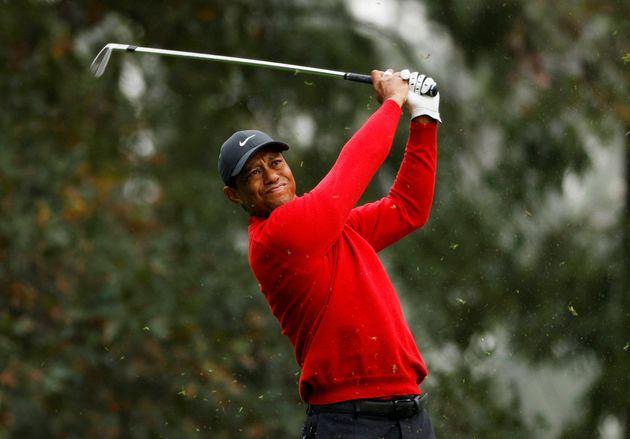 Tiger Woods, ici au Masters d'Augusta aux États-Unis, le 15 novembre