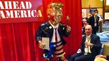 Statue of Trump at CPAC