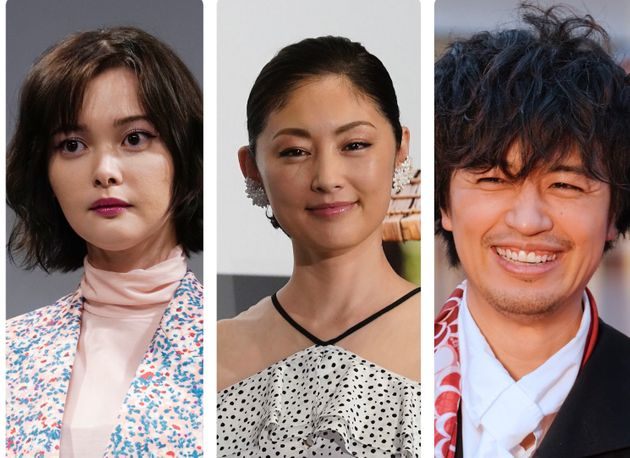 左から俳優の玉城ティナさん、常盤貴子さん、斎藤工さん