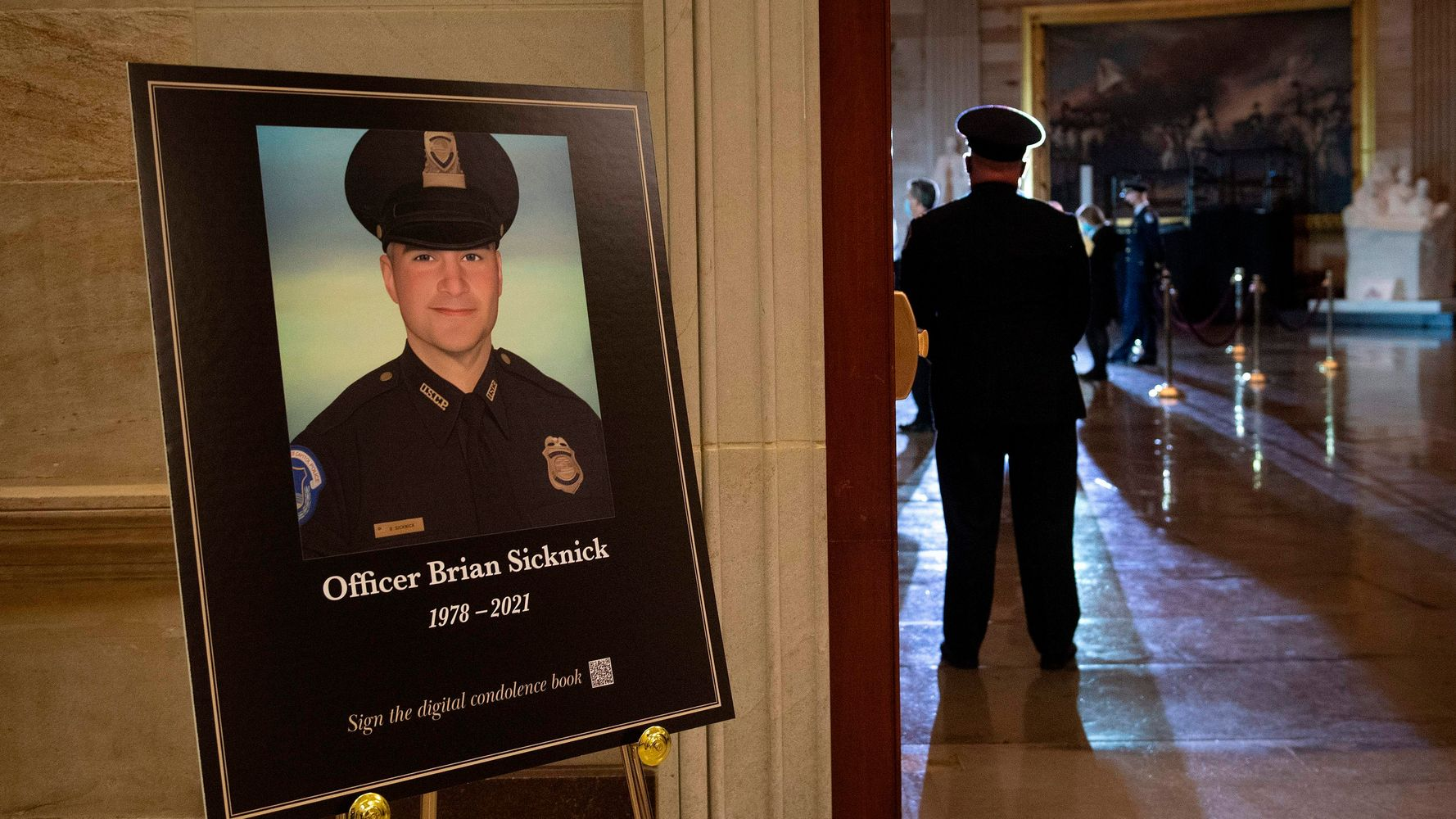FBI Singles Out Possible Capitol Suspect In Death Of Police Officer Brian Sicknick