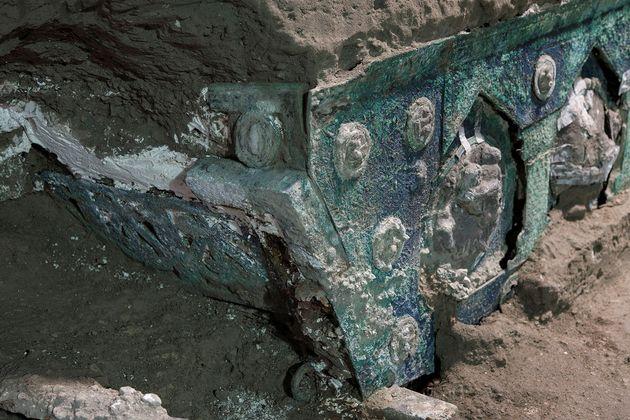 Ιταλία: Βρέθηκε ρωμαϊκό άρμα σχεδόν άθικτο κοντά στην