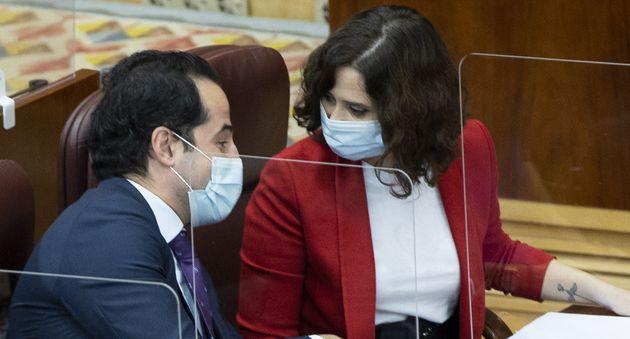 Ignacio Aguado e Isabel Díaz