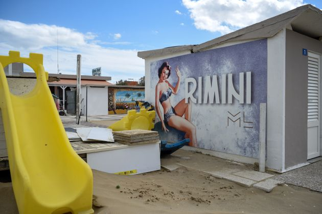 Rimini zona arancione