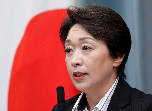 Seiko Hashimoto, la nouvelle présidente des Jeux olympiques de Tokyo, espère qu'il pourra y avoir du...
