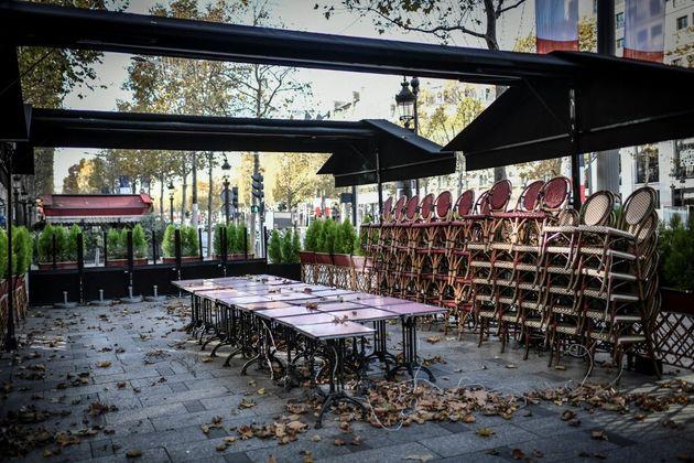 La réouverture des restaurants pour la pause déjeuner demandée par 42 députés (Photo du 12 novembre 2020...