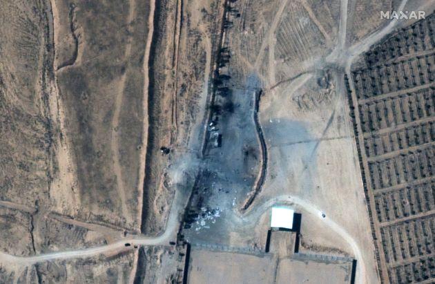시리아 내 이란 민병대 시설 공습