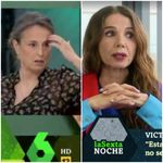 La cara de pánico de esta sanitaria tras las palabras de Victoria Abril en 'LaSexta
