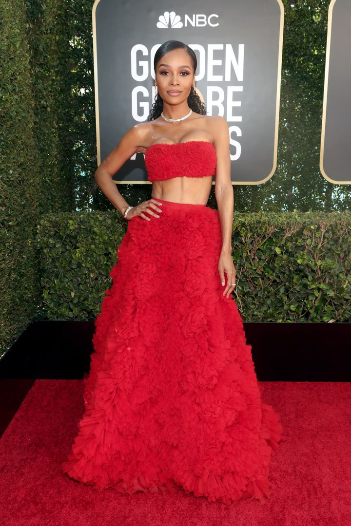 Zuri Hall attends the 78th Annual Golden Globe Awards held at The Beverly Hilton on Feb. 28.