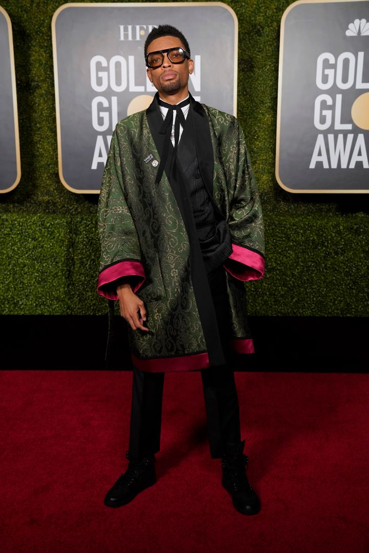 Jackson Lee attends the 78th Annual Golden Globe Awards held at The Rainbow Room in New York, New York.