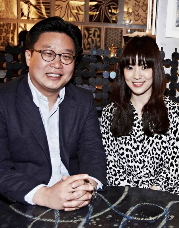 서경덕 성신여대 교수, 배우 송혜교 / 서경덕 교수가 송혜교와 캠페인을 처음 시작할 무렵 찍은 사진을