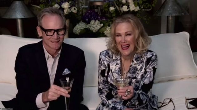 Catherine O'Hara's Golden Globes Speech Was Comedic Perfection, Of Course