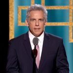 Les cheveux gris de Ben Stiller ne passent pas inaperçus aux Golden