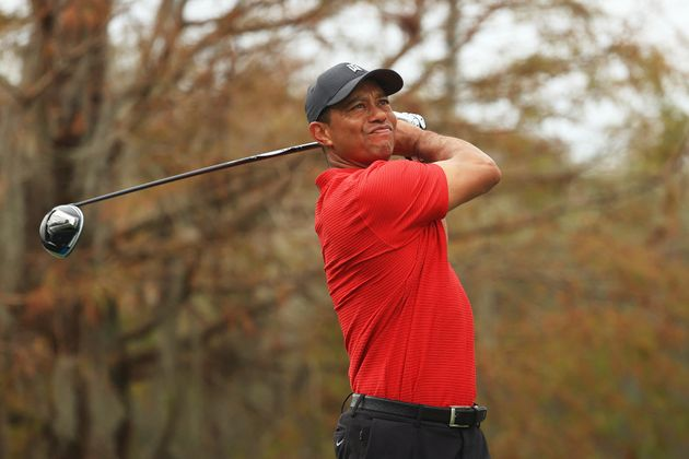 Tiger Woods lors de la finale du PNC Championship au Ritz-Carlton Golf Club à Orlando en Floride, le...