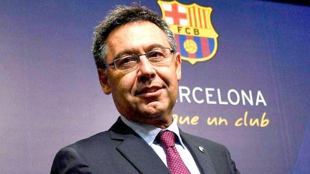 El expresidente del Barça,Josep Maria